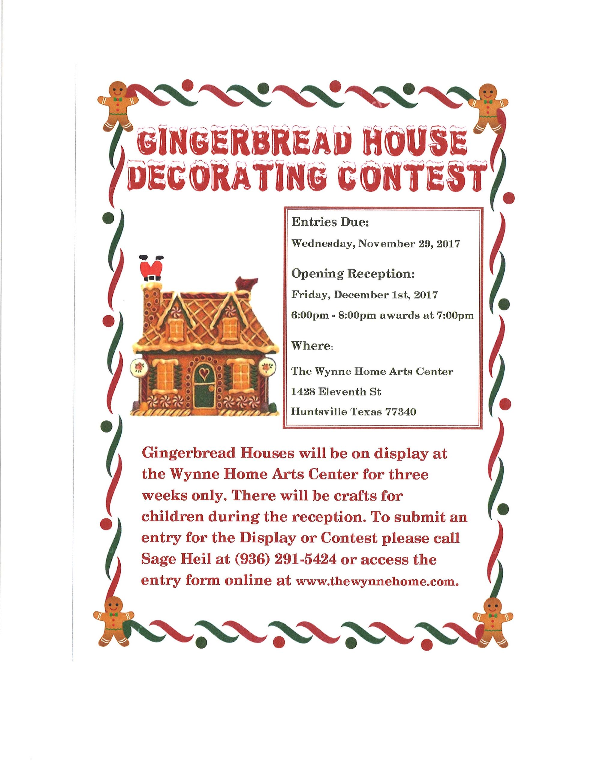 Ginger Bread Contest 2017